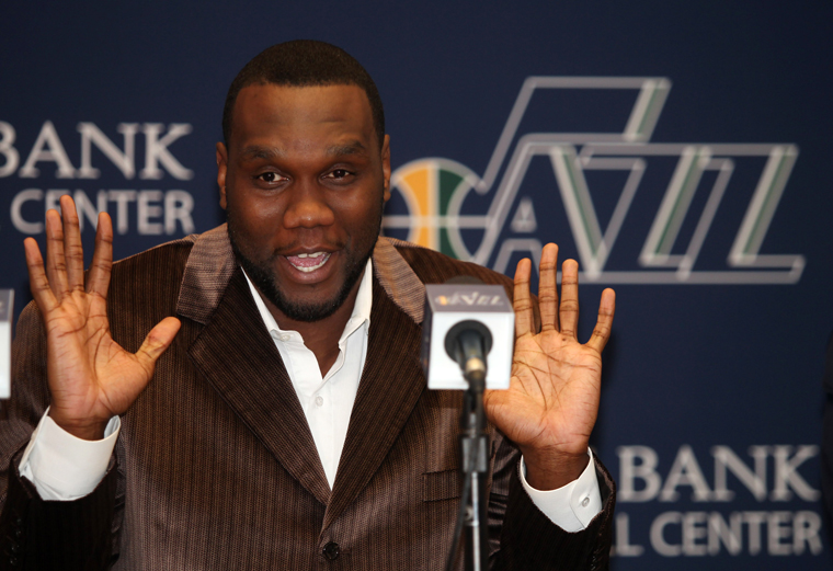 Utah Jazz Introduce Al Jefferson
