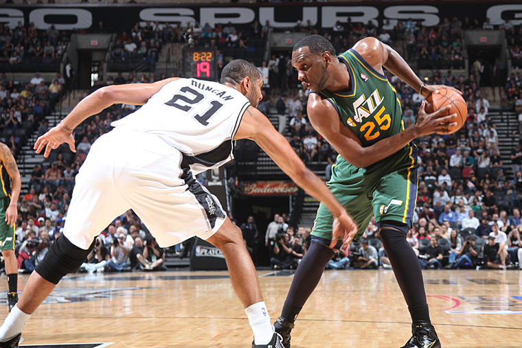 Utah Jazz v San Antonio Spurs - Game 2