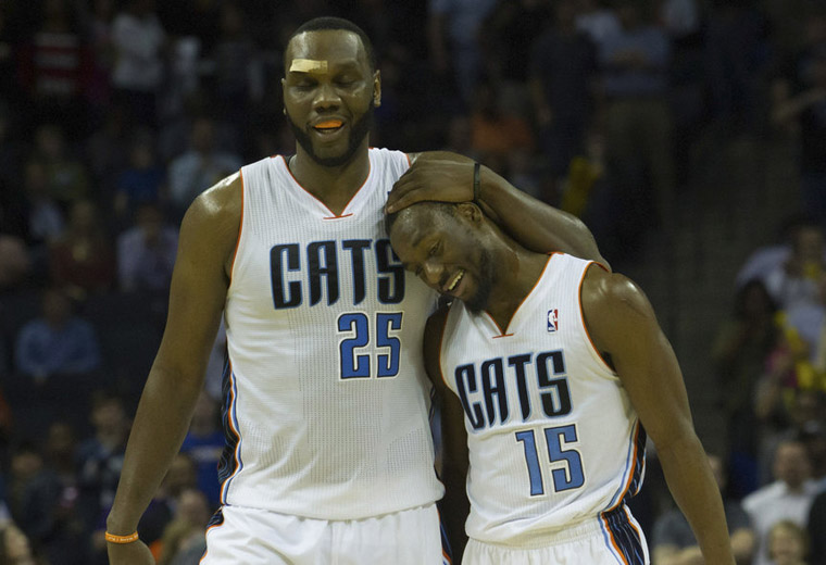 NBA: Washington Wizards at Charlotte Bobcats